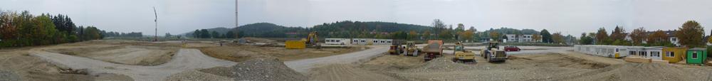 Das neue Graf-Rasso-Gymnasium am 14.10.2006