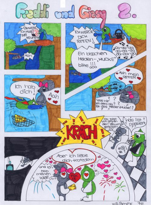Comic  Broek