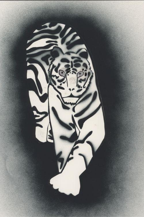 Schablone Tiger2