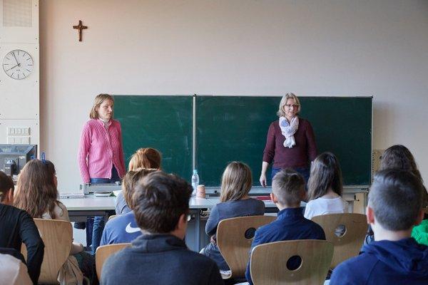 Vortrag zu Sehbehinderung im Klassenzimmer